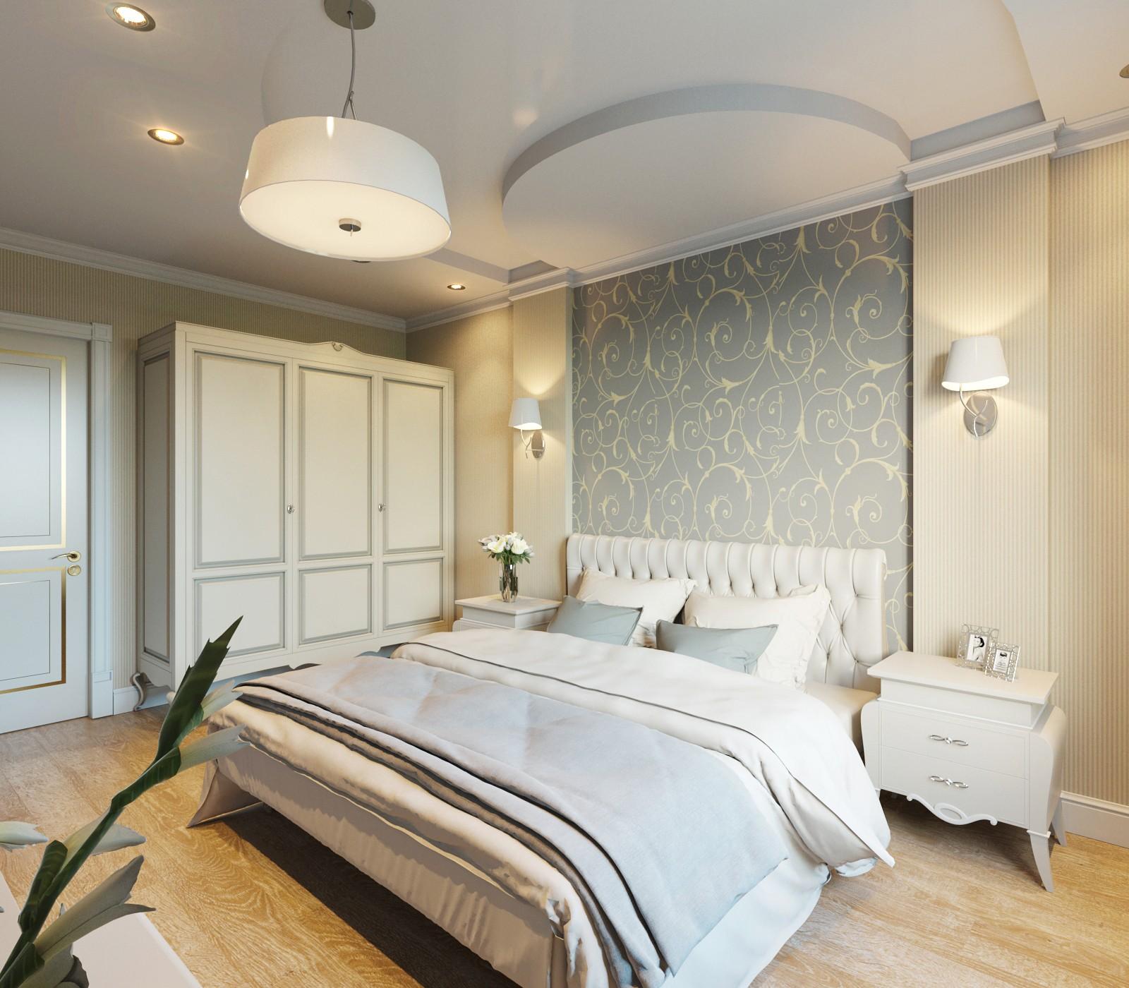 спальня площадью 5 на 5 метров фото дизайна