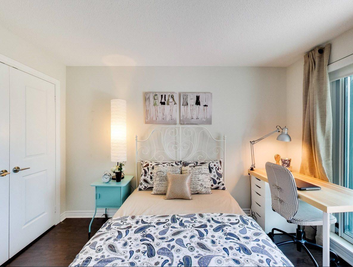 спальня площадью 5 на 5 метров фото интерьера