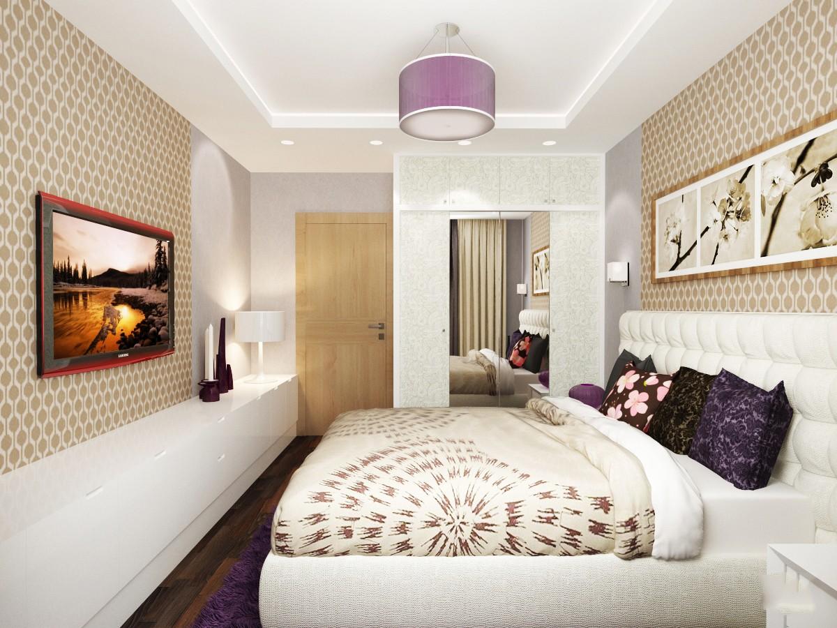 спальня площадью 5 на 5 метров идеи