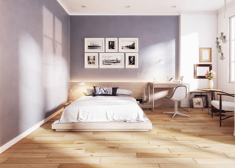 спальня площадью 5 на 5 метров интерьер