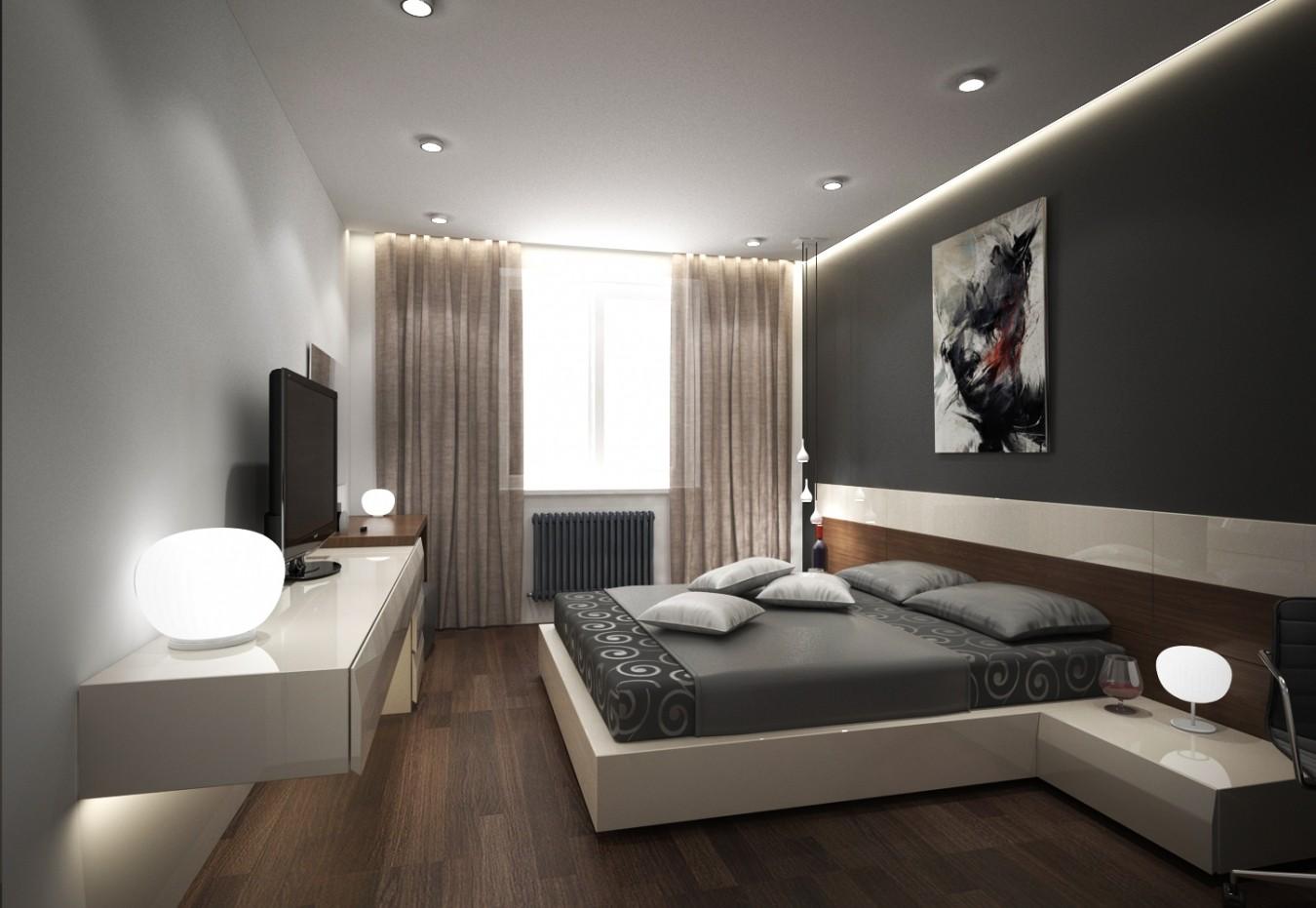 спальня площадью 5 на 5 метров освещение