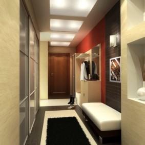 узкий коридор в квартире виды