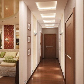 узкий коридор в квартире фото виды