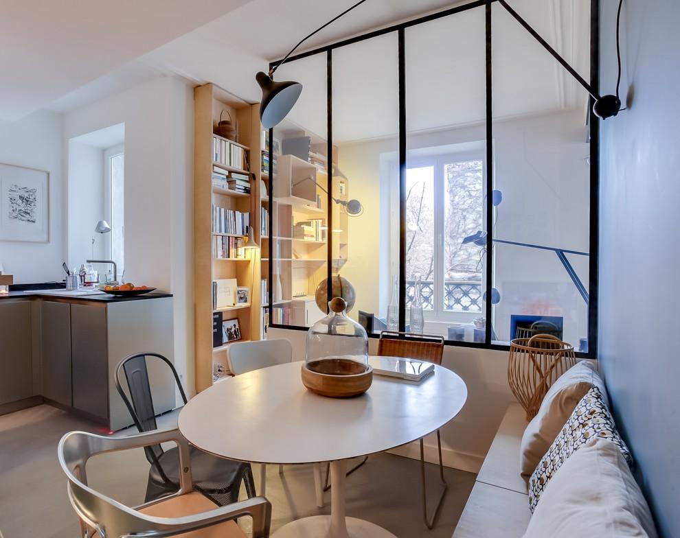 Зонирование однокомнатной квартиры стеклянной перегородкой