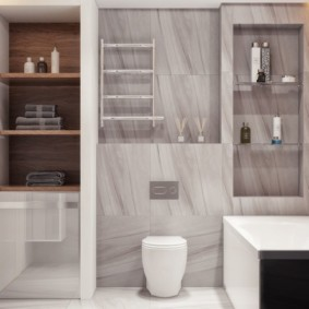 стеклянные полки для ванной комнаты идеи дизайн
