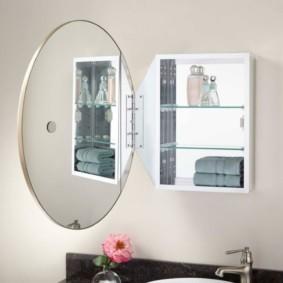 стеклянные полки для ванной комнаты фото декор