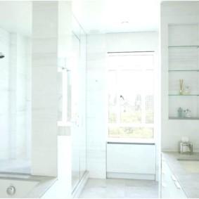 стеклянные полки для ванной комнаты варианты фото