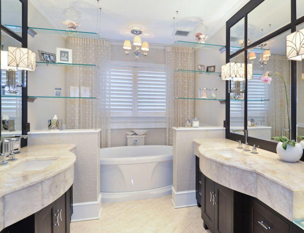 стеклянные полочки в ванную комнату обзор