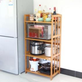 стеллаж для кухни фото идеи