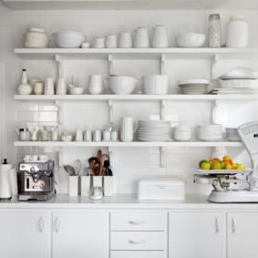 стеллаж для кухни дизайн фото