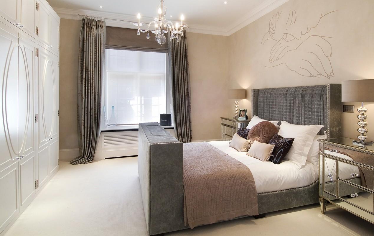 стильная спальня 14 кв метров