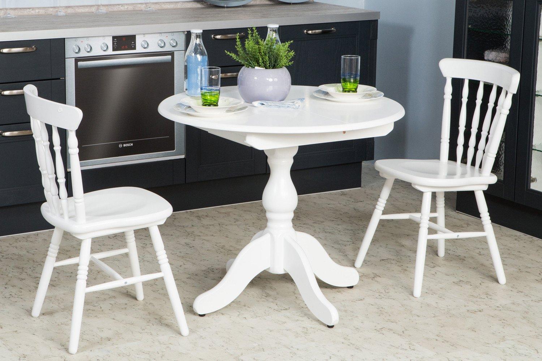 Кухонный круглый стол фото