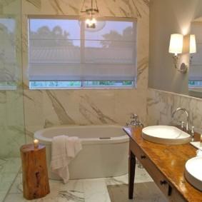 столешница в ванную фото оформление