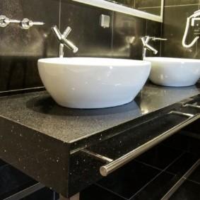 столешница в ванную фото варианты