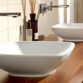 столешница в ванную фото