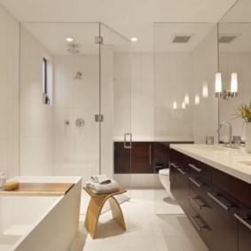 столешница в ванную фото декор
