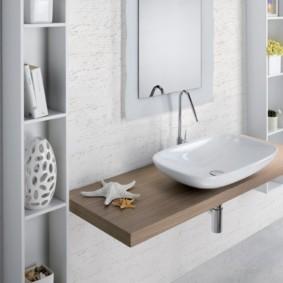 столешница в ванную фото декора