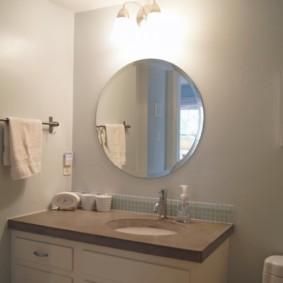 столешница в ванную фото интерьер