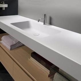 столешница в ванную фото интерьера