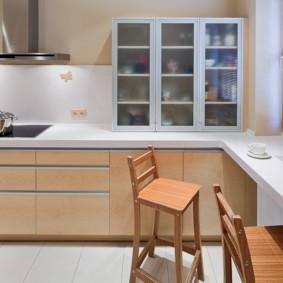столешница вместо подоконника на кухне фото идеи