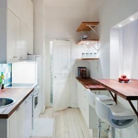 столешница вместо подоконника на кухне виды декора