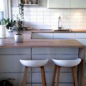 столешница вместо подоконника на кухне фото виды