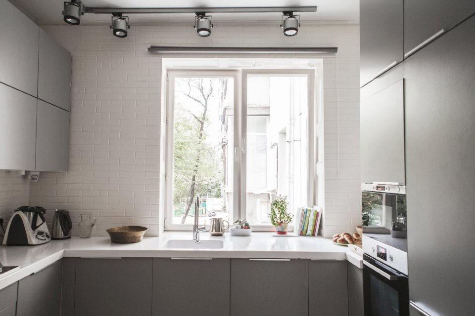 столешница вместо подоконника на кухне идеи дизайна