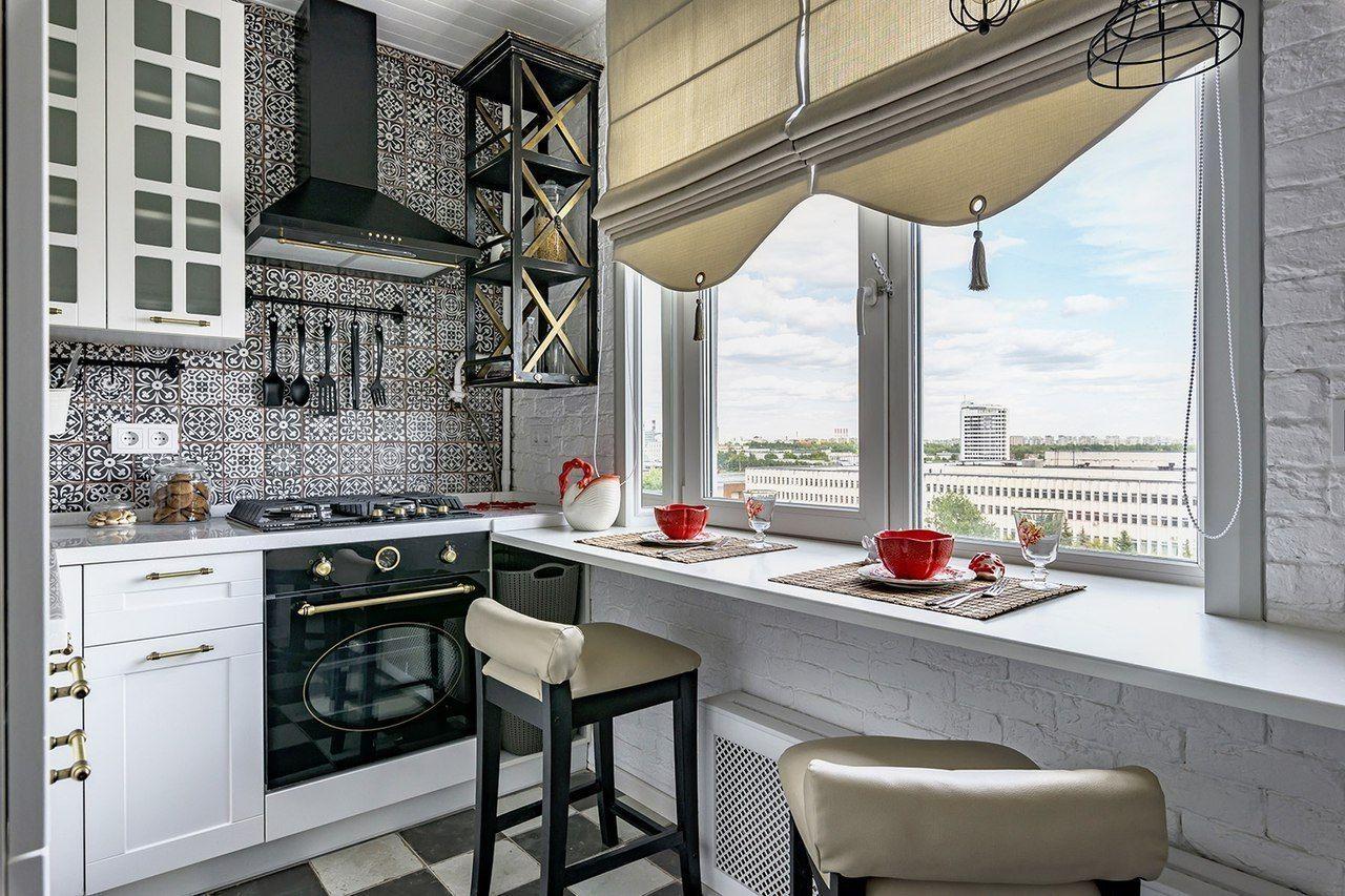 столешница вместо подоконника на кухне виды дизайна