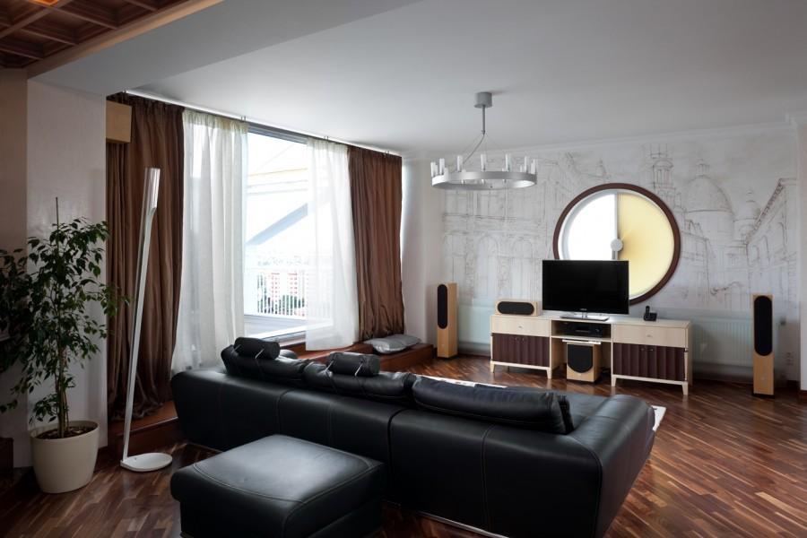 Светлые стены в квартире однушке
