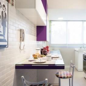 кухня в панельном доме виды интерьера