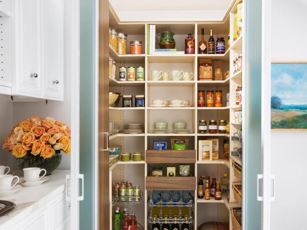 хранение предметов на кухне