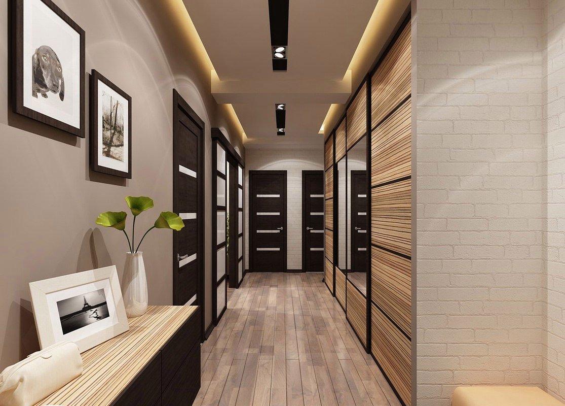 узкий длинный коридор фото