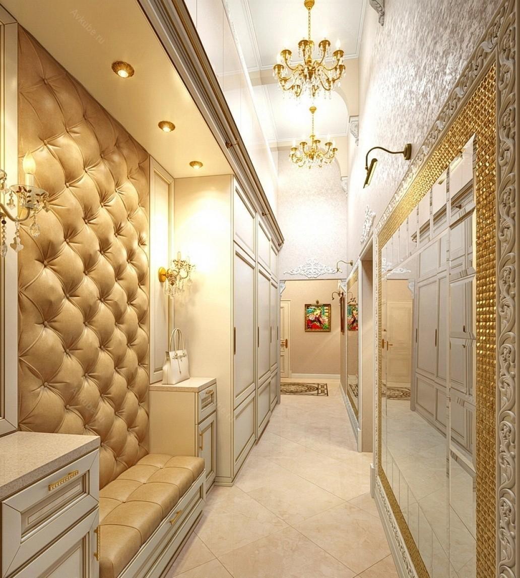 узкий коридор в панельном доме освещение