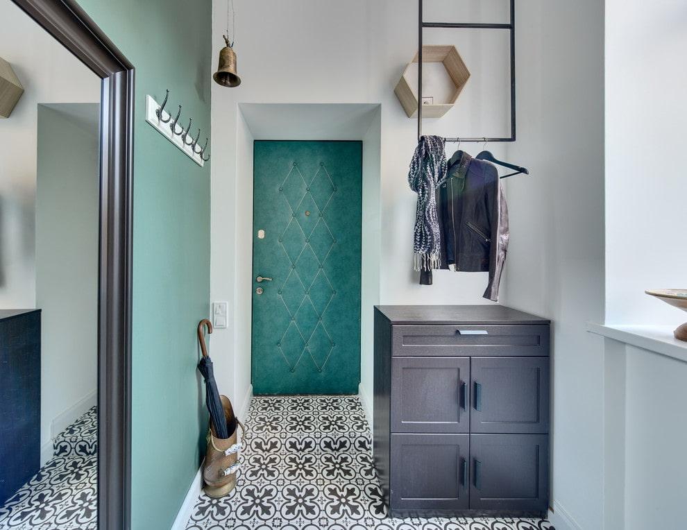 узорчатая плитка на пол в коридор