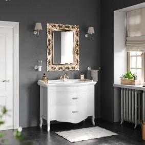 зеркало для ванной дизайн