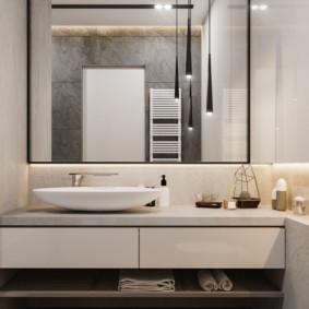 зеркало для ванной идеи дизайн
