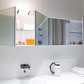 зеркало для ванной варианты фото