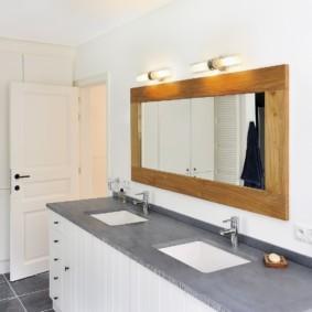 зеркало для ванной фото идеи