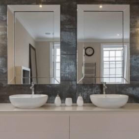 зеркало для ванной фото видов