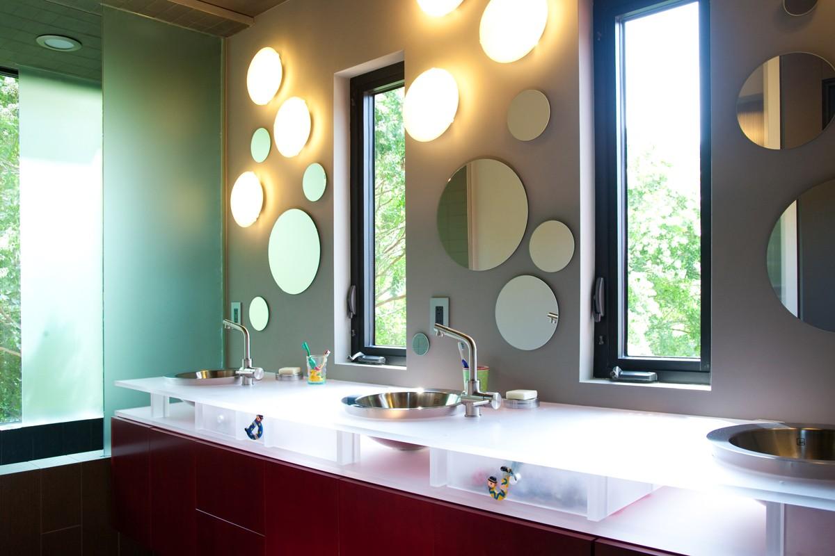 зеркало для ванной идеи фото