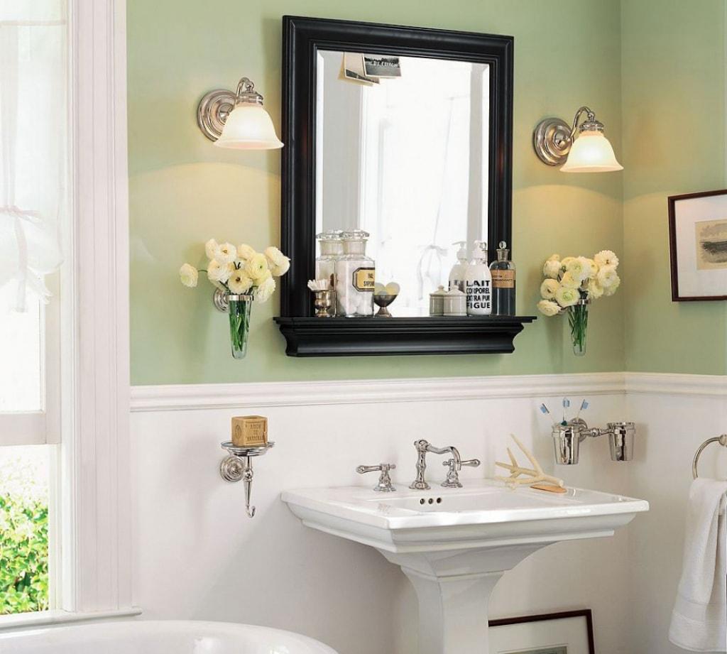 Картинки ванная комната с зеркалом