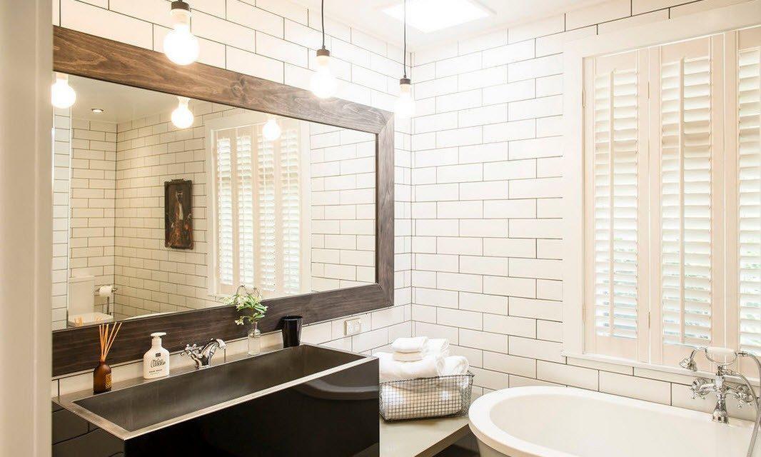 зеркало для ванной идеи видов