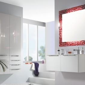 зеркало для ванной идеи виды