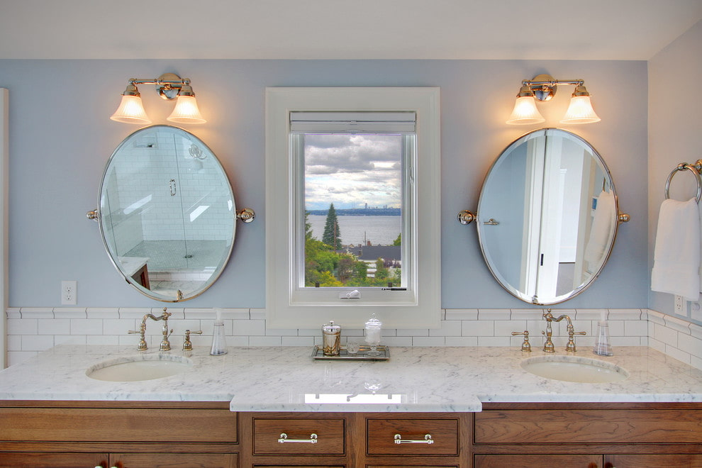 зеркало для ванной варианты