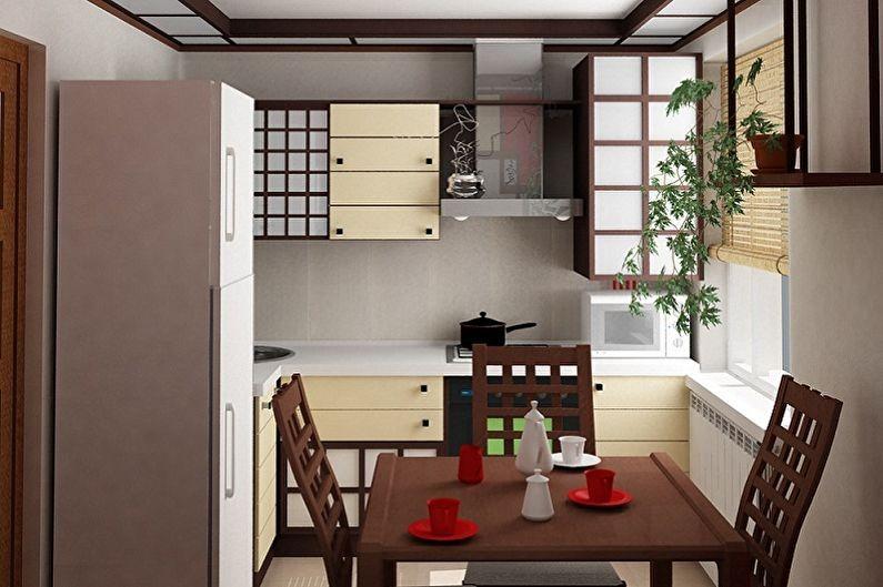 японская кухня в панельном доме