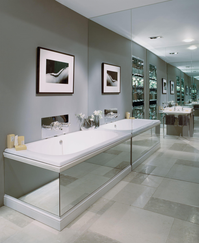 зеркальный экран для ванной