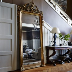 зеркало в прихожей по фен шуй фото дизайн