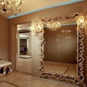 зеркало в прихожей по фен шуй идеи декор