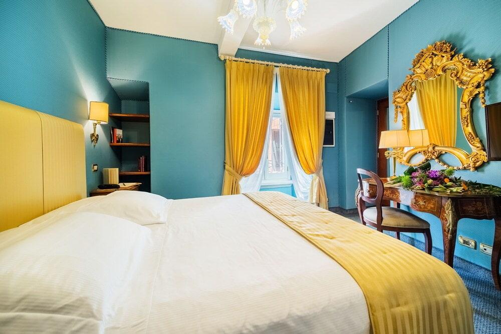 желтая спальня фото виды