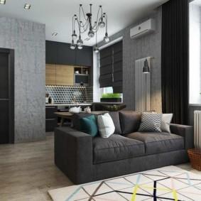 дизайн малогабаритной квартиры варианты фото